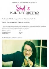 Kathrin Hubacher Trio Jazz
