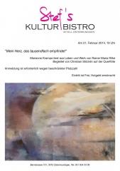 Marianne Krampe liest aus Leben und Werk von Rainer Maria Rilke