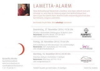 Lametta-Alarm