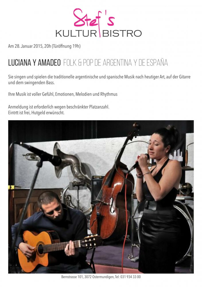 Luciana y Amadeo